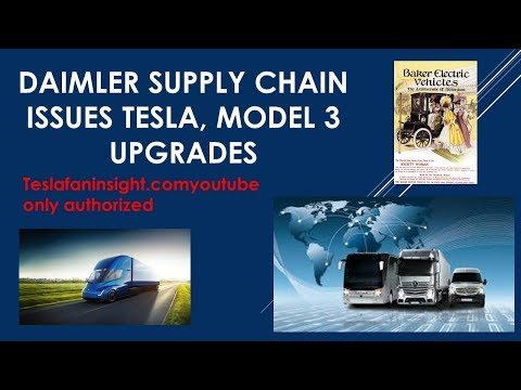 Daimler Supply Issues Tesla electric response hurts diesel suppliers.