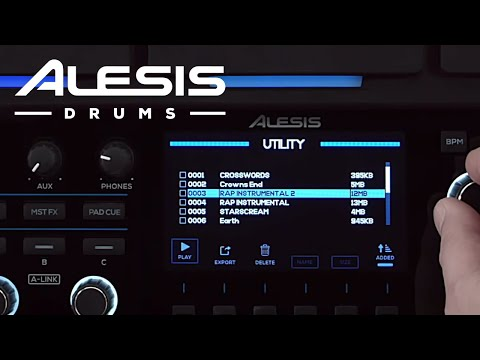 Alesis Strike MultiPad - Using the Sample Manager (Feature Update v1.3)