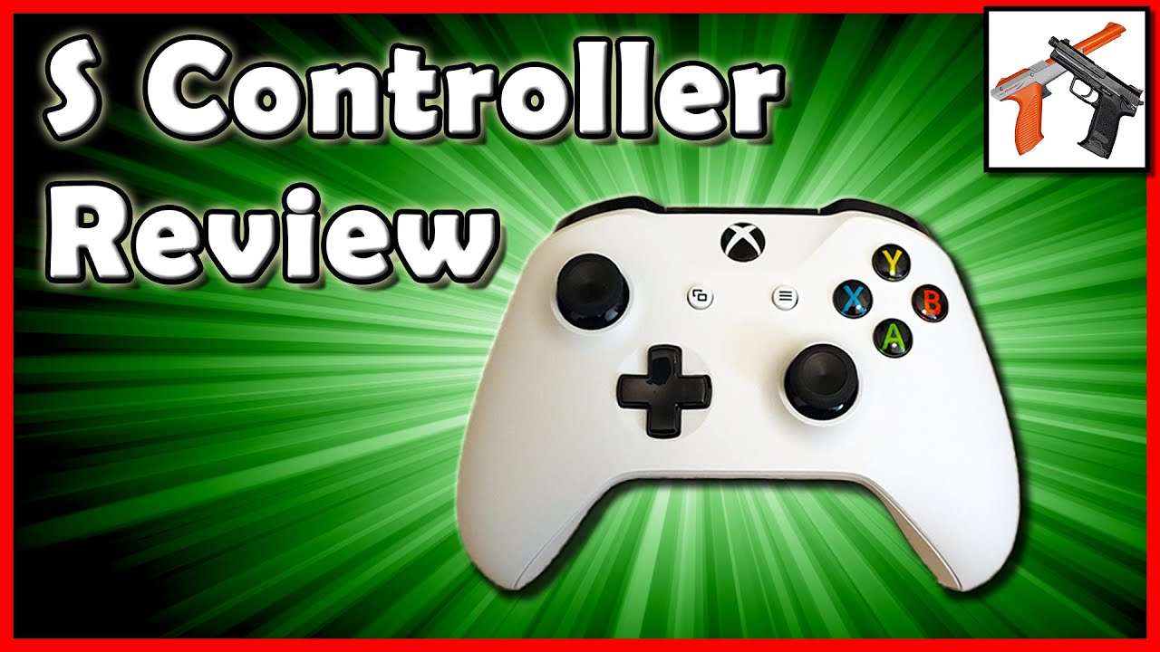 Xbox One S Controller Review: The BEST Controller !?! One Comparison,  Unboxing, Overview, and Test