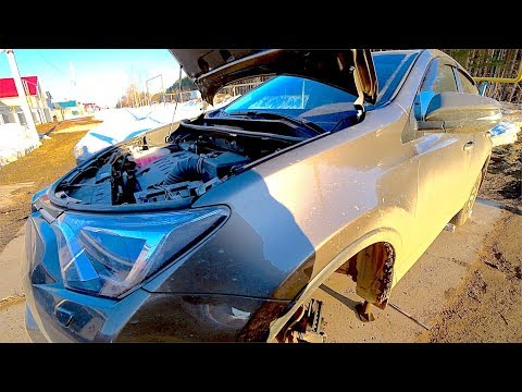 Toyota RAV4 - меняю зиму на лето, но неожиданно кончились передние колодки