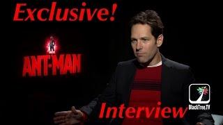 Paul Rudd Ant-Man Interview