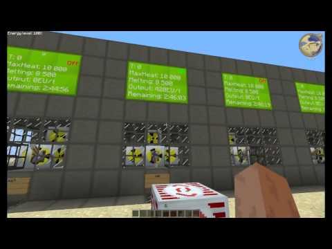 Industrial Craft 2  Лучшие схемы ядерного реактора