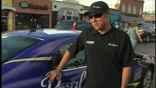 nascar driver matt kenseth provides crown royal safe rides