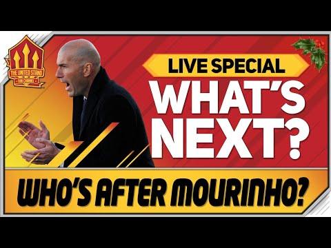 MOURINHO Gone! ZIDANE or SOLSKJAER In! Man Utd News Now