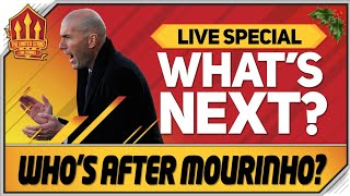 MOURINHO Gone! ZIDANE or SOLSKJAER In! Man Utd News Now