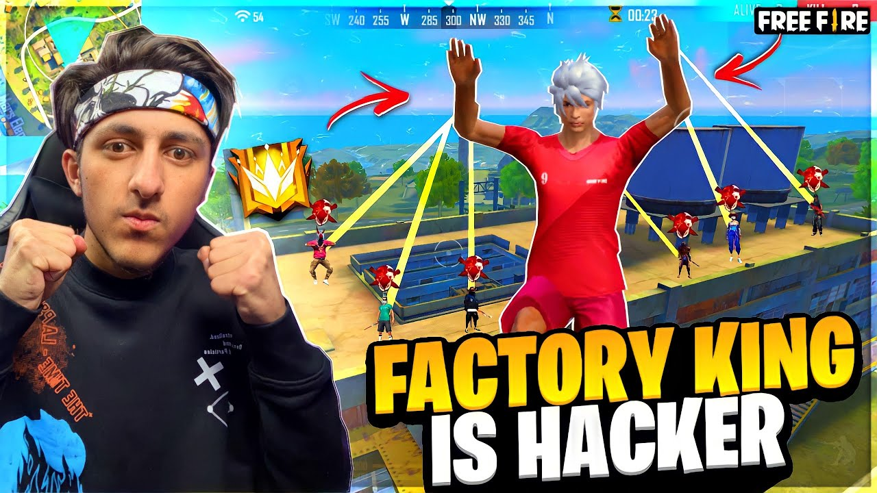 Factory King A_s Gaming Is Hacker 😡 | As Gaming Vs As gaming Who Is Hacker? - Garena Free Fire