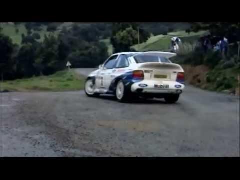 Escort cosworth rallye