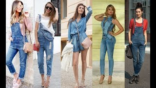 Simple Denim Jumpsuit You Must Try