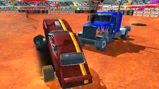 Monster Truck Derby Crash Stunts #9 | Android Gameplay | Friction Games