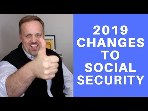 LIVE--Social Security Changes in 2019