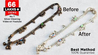 How to Clean Silver items at home   Easiest way to clean Silver