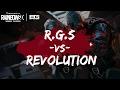 IEL RGS VS REVOLUTION //DISPONSORI : BattleGrip