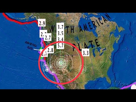 //ALERT\\ Strong 5.7 Earthquake Magna, Utah / March 18 2020