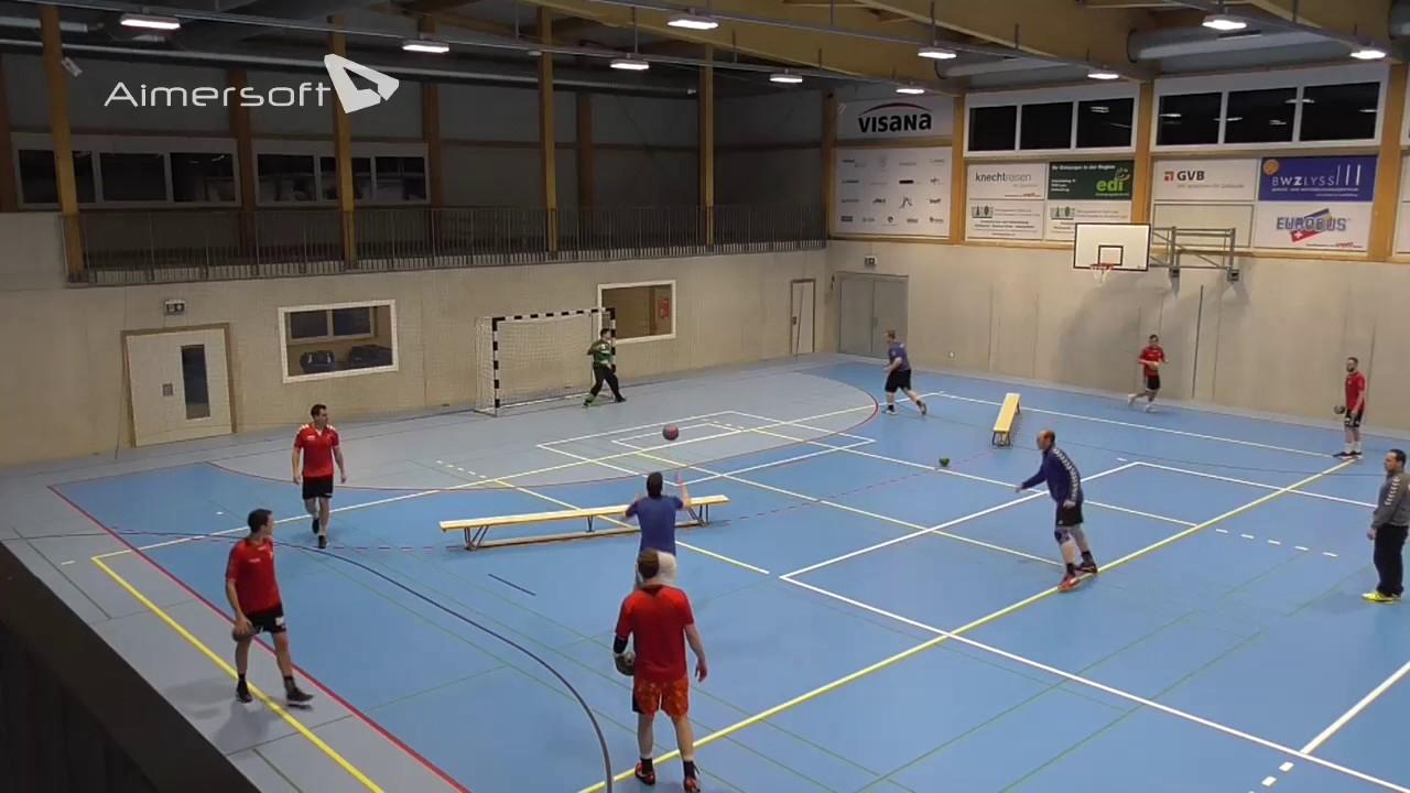 Wurftraining Handball