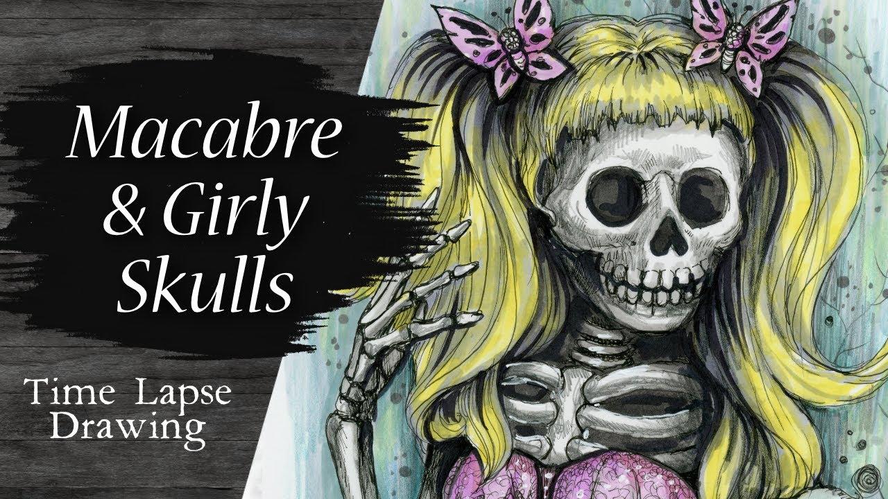 Video - Macabre Girl Skull