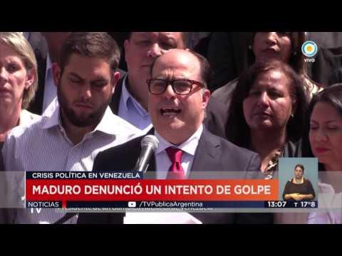 TV Pública Noticias - Marchas en Venezuela a favor y en contra de Maduro