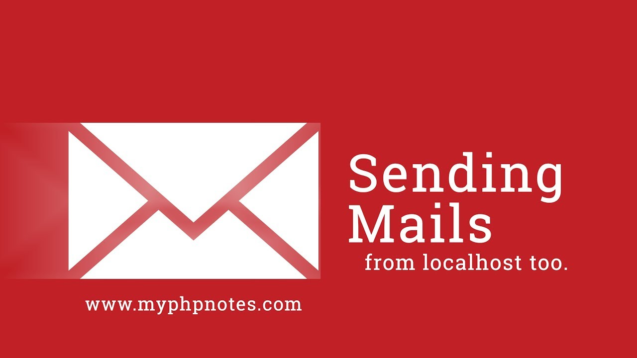 PHP Mailing : Sending mails through mail() in localhost and production