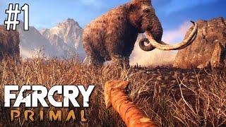 Far Cry Primal #1 - Polowanie na mamuta | gameplay pl