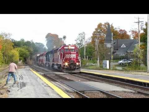 Ayer Railfanning (10/17/10) (720 HD)