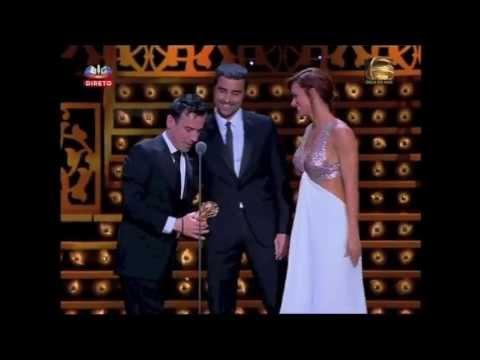 Henrique Feist recebe o Globo de Ouro Caras SIC 2013