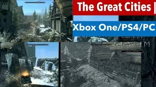 Skyrim SE Xbox One/PS4/PC Mods|The Great Cities | By Soldierofwar