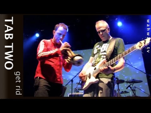 TAB TWO - get rid - live 2012 (Hellmut Hattler & Joo Kraus @ hells 60s birthday party!)