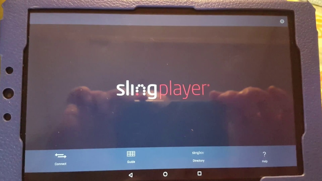 Slingplayer missing chromecast button fix workaround