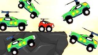 Машинки мультик. Машинка РЕДДИ и атака Монстр Траков / Cars - Monster Trucks' attack