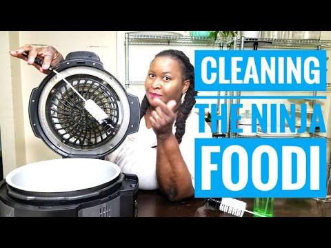 The  BEST way to clean the NINJA FOODI