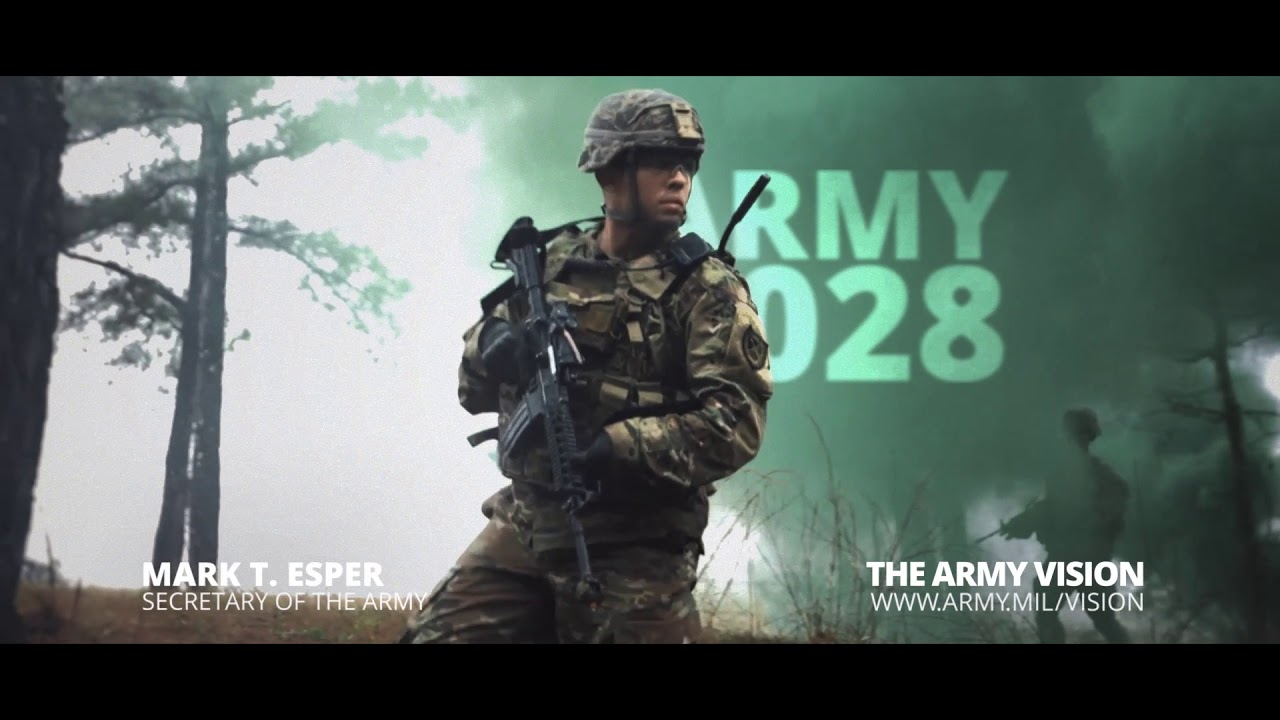 The U.S. Army Vision is the Secretary of the Army's and Chief of Staff's guidance for building a lethal army to meet the nation's needs over the next ten years. The Army of 2028 will be ready to deploy, fight and win decisively, against any adversary, in a joint, multi-domain, high-intensity conflict. #ArmyVision #USArmy