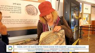 PREVIEW: VIDEO Tour of Jerusalem's City of David with Eve Harow