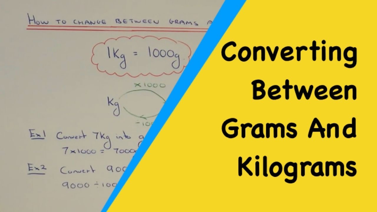 Worksheet Convert 50 Kg To Grams metric weight conversions how to convert numbers from kilograms into grams ang g kg