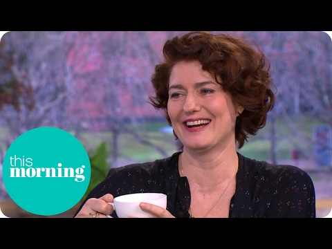 Anna Chancellor Had a Mini Four Weddings Reunion on Her Latest Film  This Morning