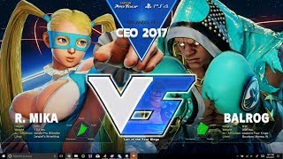 SFV: Liquid` NuckleDu vs PIE Smug - CEO 2017 Top 8 - CPT 2017