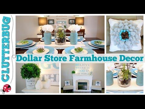 Easy Dollar Store Farmhouse Decor Ideas & DIY Felt Pillows