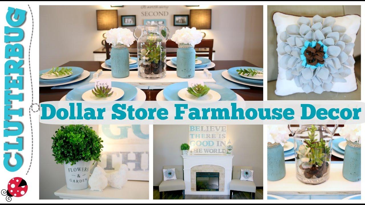 Easy Dollar Store Farmhouse Decor Ideas U0026 DIY Felt Pillows