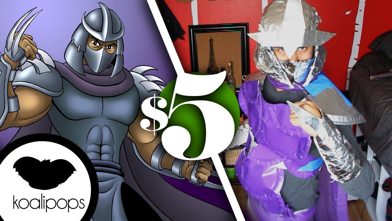 Tmnt Shredder 5 Costume How To Youtube
