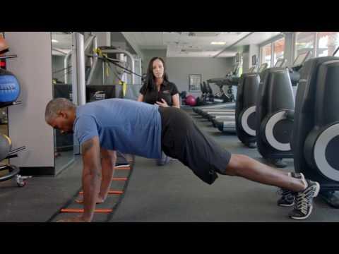 How to do upper body speed ladder exercise