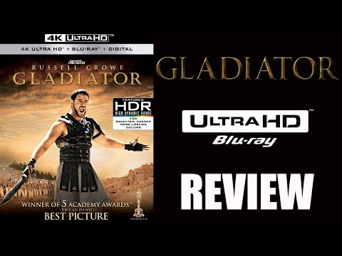 GLADIATOR 4K Bluray Review | DTS-X