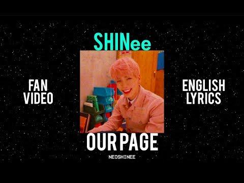SHINee (네가 남겨둔 말 Our Page) FAN VIDEO + ENGLISH LYRICS