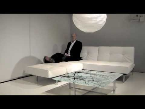Splitback Sofa Bed By Innovation Youtube