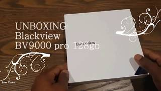 """Buy  Blackview BV9000 Pro Smartphone 5.7"""" 18:9 HD+ Full Screen IP68 Waterproof review and unboxing"""