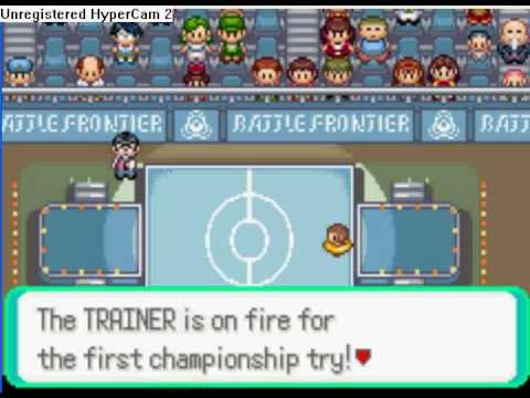 Pokemon Emerald Battle Dome (Music: Rammstein,Adios) pt. 2