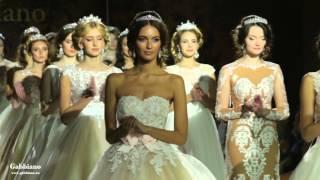 Презентация свадебных платьев от Gabbiano 2016