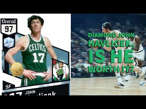 DIAMOND JOHN HAVLICEK, ONE OF THE GOAT SMALL FOWARDS YOU NEVER HEARD OF 2k17
