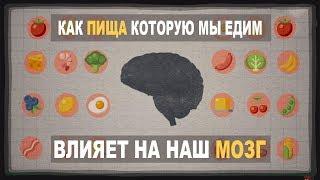 Как ВЛИЯЕТ пища которую мы едим на наш мозг