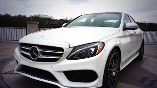 2015 Mercedes-Benz C400 - TestDriveNow.com Review by Auto Critic Steve Hammes