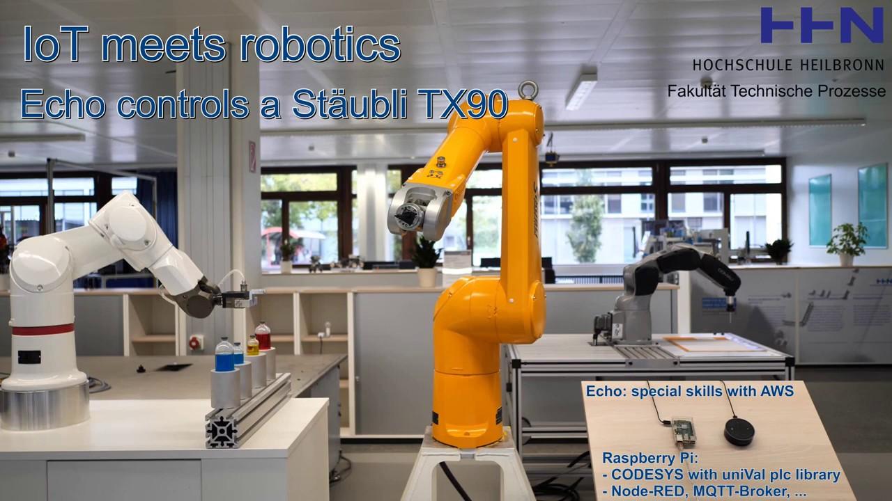 IoT meets robotics