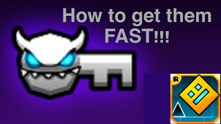 Download lagu How to earn demon keys Geometry Dash MP3