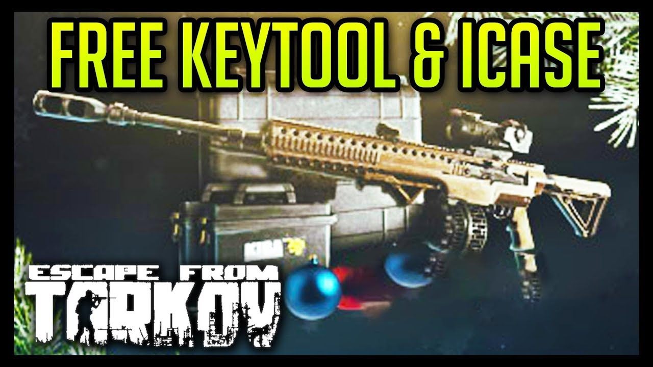 Escape From Tarkov Christmas Gift 2020 FREE Keytool, Item Case & More   Escape from Tarkov   YouTube